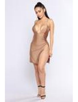 cant-tell-me-nothing-dress---gold by fashion-nova