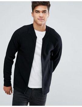 jack-&-jones-core-zip-thru-knit by jack-&-jones