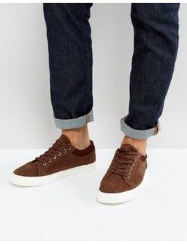 asos-trainers-in-brown-with-cuff by asos