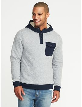 quilted-color-block-henley-hoodie-for-men by old-navy