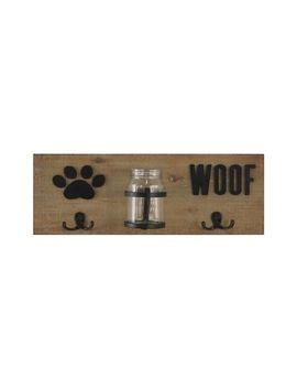 dog-treats-&-leash-wall-hooks by crystal-art-gallery