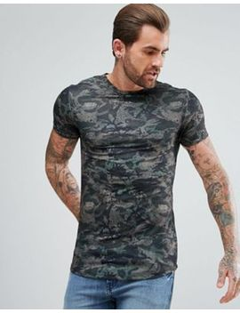 river-island-muscle-fit-t-shirt-with-curved-hem-in-camo-print by river-island