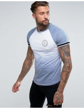 river-island-raglan-t-shirt-in-faded-grey-and-white by river-island