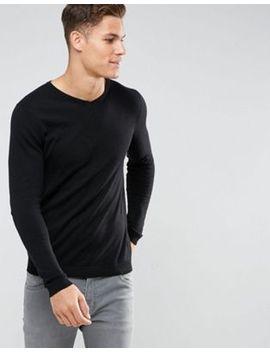 jack-&-jones-premium-v-neck-jumper by jack-&-jones