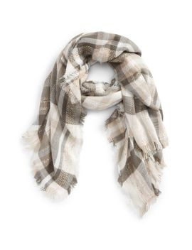plaid-tweed-scarf by emanuel-geraldo