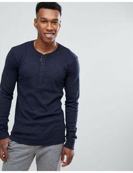 lindbergh-henley-t-shirt-in-navy by lindbergh