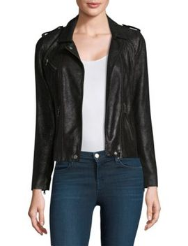crackle-leather-moto-jacket by rebecca-taylor