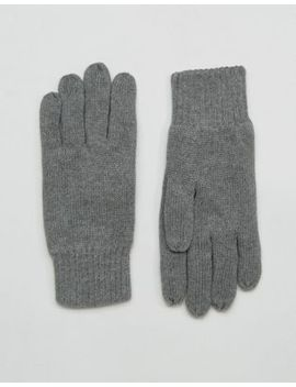 selected-homme-leth-gloves-in-grey by selected-homme