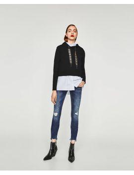 super-skinny-distressed-jeans--jeans by zara