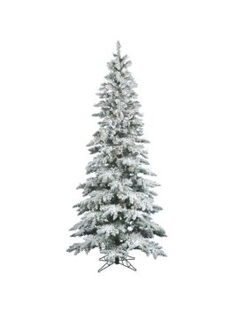 flocked-utica-75-white_green-fir-trees-artificial-christmas-tree-with-360-clear_white-lights by the-holiday-aisle