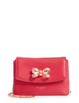 leorr-bow-leather-crossbody-bag by ted-baker-london