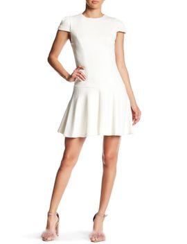 darleen-drop-waist-textured-dress by alice-+-olivia