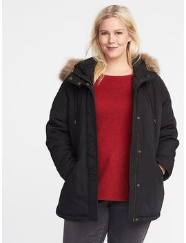 plus-size-faux-fur-hooded-parka by old-navy