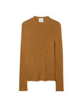 long-sleeve-jenny-ribbed-tee by goop-label