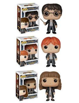 funko-harry-potter-pop!-movie-vinyl-collectors-set:-harry-potter,-ron-weasley-&-hermione by funko