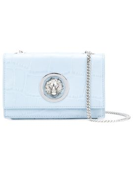 lion-embellished-shoulder-bag by versus