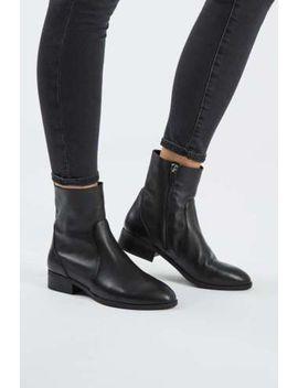 topshop-klash-black-leather-ankle-sock-boots-uk-7-eu-40-sold-out!! by ebay-seller