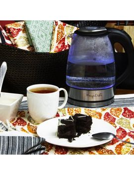 megachef-17lt-glass-and-stainless-steel-electric-tea-kettle by megachef