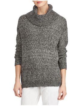 marled-funnelneck-sweater by lauren-ralph-lauren
