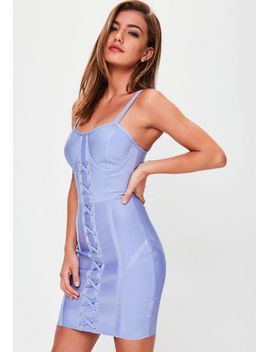 blue-bandage-bustcup-lace-up-front by missguided