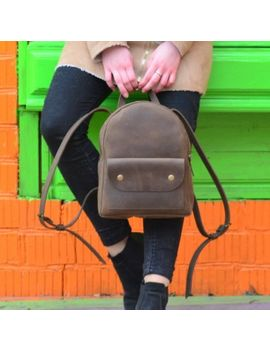 brown-leather-backpack,-woman-leather-backpack,-leather-rucksack,-leather-backpack-brown,-travel-backpack,-leather-backpack,-school-backpack by etsy