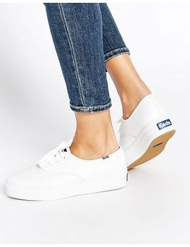 keds-champion-white-triple-leather-flatform-sneakers by keds