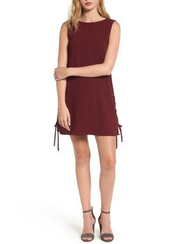 timberly-lace-up-shift-dress by cupcakes-and-cashmere