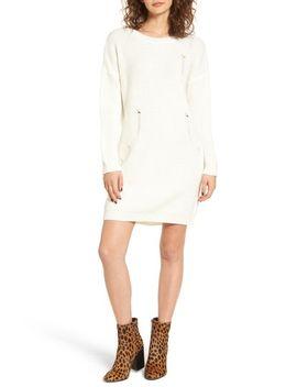 distressed-sweater-dress by cotton-emporium