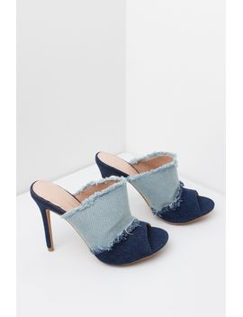 stay-ahead-of-the-curve-open-toed-mule-denim-sandals by akira