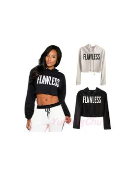 casual-premier-creabygirls-womens-sexy-letter-printed-crop-hoodie-pullover-sweatshirt by wish
