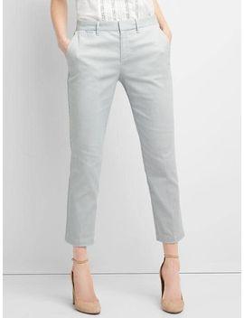 seersucker-slim-crop-pants by gap