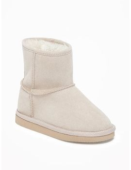 sueded-short-adoraboots-for-toddler-girls by old-navy