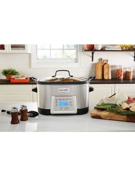 crock-pot-5-in-1-multi-cooker---stainless-steel-sccpmc600-s by pot-5