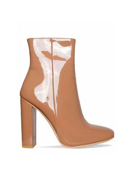 mischa-coffee-patent-block-heel-ankle-boots by simmigirl