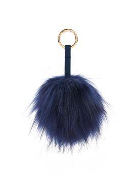 cute-pom-pom-keychain by sheinside