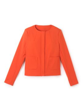 zip-up-jacket by la-redoute-collections