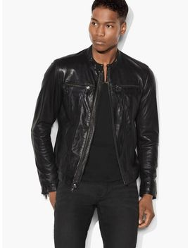 band-collar-leather-jacket by john-varvatos