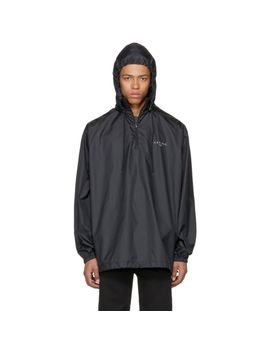 black-kering-vareuse-windbreaker-jacket by balenciaga