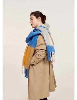 maxi-checked-scarf by mango