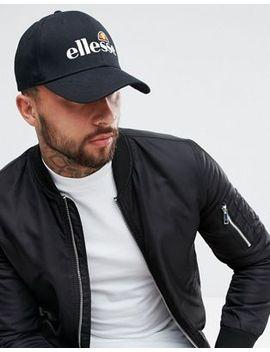 ellesse-cap-with-logo-in-black by ellesse