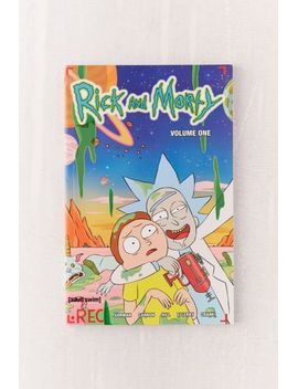 rick-and-morty-volume-1-by-zac-gorman by urban-outfitters