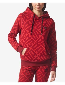 printed-fleece-hoodie by adidas-originals