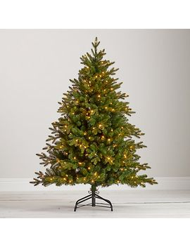 john-lewis-kensington-pre-lit-christmas-tree,-5ft by john-lewis