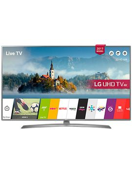 "lg-49uj670v-led-hdr-4k-ultra-hd-smart-tv,-49""-with-freeview-play-&-crescent-stand,-grey by lg"