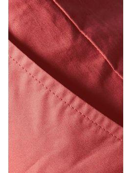 nanon-belted-cotton-poplin-straight-leg-pants by isabel-marant
