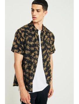 rolla's-mono-palm-gold-bon-short-sleeve-shirt by rollas