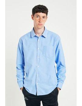 soulland-adam-blue-long-sleeve-pocket-shirt by soulland