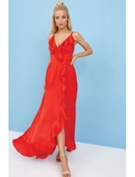 outlet-little-mistress-red-maxi-dress by little-mistress