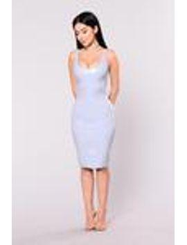 what-the-faux-dress---light-grey by fashion-nova