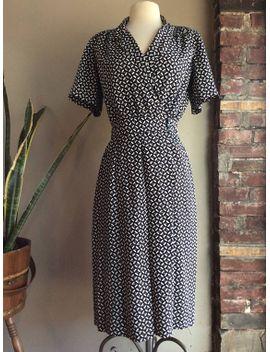 1960's-linen-wiggle-dress---medium by etsy
